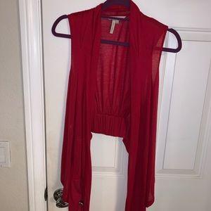 BCBG Generation red vest